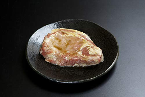 国産豚ロース 厚切りステーキ 和風青じそ風味 1枚300g