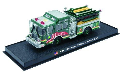 E-One Cyclone II Pumper Fire Truck Diecast 1:64 Model (Amercom GB-14)