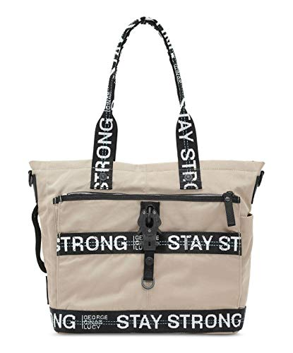 GEORGE GINA & LUCY Baby Bags Little Styler Beige Stay Strong