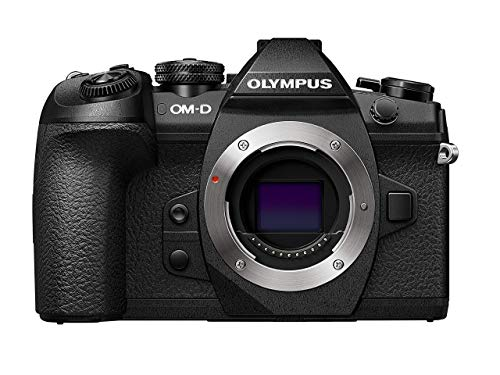 Olympus OM-D E-M1 Mark II, Micro Four Thirds System Camera, 16 Megapixels, 5-Axis Image Stabilizer, Electronic Viewfinder, Black