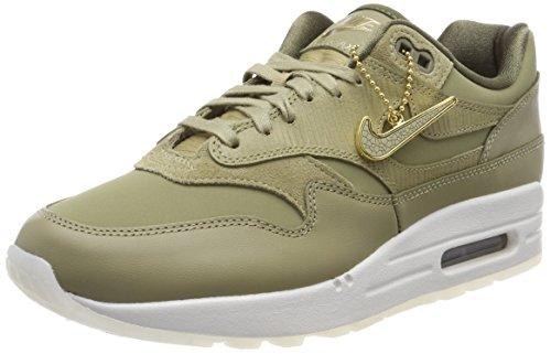 Nike Air MAX 1 PRM, Zapatillas de Gimnasia Mujer, Verde (Neutral Olive/Neutral Olive/Me 205), 36.5 EU