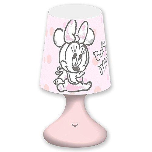Joy ToyMini Pantalla Minnie y PAPERINA Disney Baby LED DE BATERÍA Caja de Regalo- 68026/MINNIE