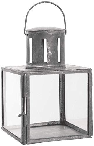 Ib Laursen Mini Lanterne Suspendue en Verre et métal Noir