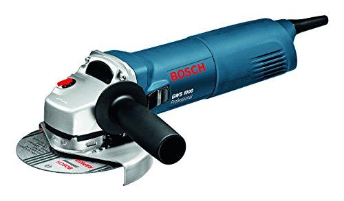 Bosch Professional Winkelschleifer GWS 1000 (Scheiben-Ø 125 mm, 1.000 Watt, mit Wiederanlaufschutz, im Karton)