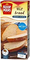 Koopmans Wit brood mix (10x 450g multipack), mix geschikt voor 1 brood of 10 zachte witte bolletjes (oven en...
