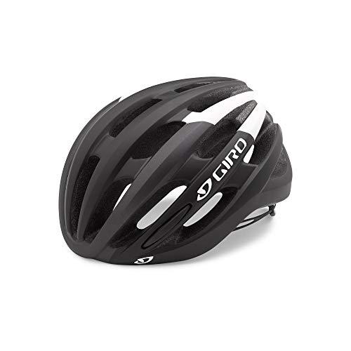 Giro Erwachsene Foray MIPS Fahrradhelm, Matte Black/White, L