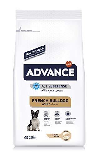 Advance Bulldog Francés - Pienso para Perros de Raza Bulldog francés - 2.5 kg (923531)