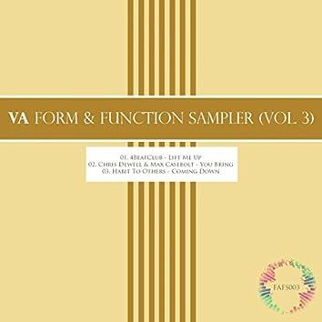 Form & Function Sampler, Vol. 3