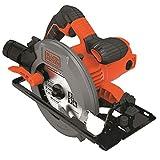 BLACK+DECKER CS1550-QS Scie circulaire filaire - 5500 rpm - Profondeur de coupe : 66...