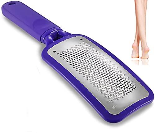 Lima per piedi, rimozione del tessuto calloso, il miglior strumento in metallo per pedicure la cura della superficie del piede per rimuovere la crosta può essere utilizzata su piedi bagnati e asciutti