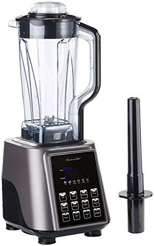 Rosenstein & Söhne Stand-Mixer: Profi-Standmixer BR-2000, 6 Programme, 2 l, 1.600 W, 33.000 U/Min. (Gastro-Mixer)