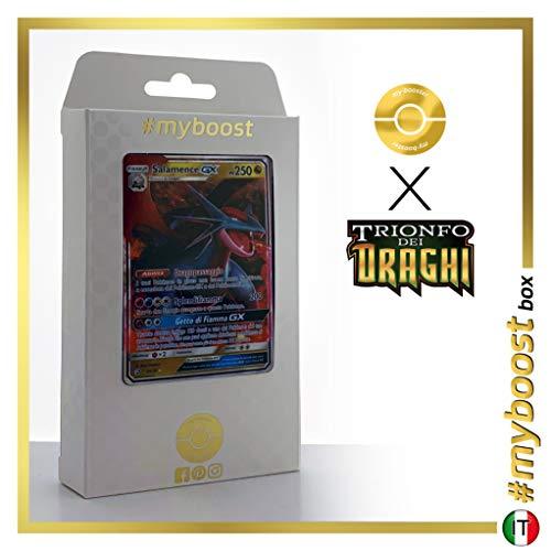 Salamence-GX 44/70 - #myboost X Sole E Luna 7.5 Trionfo dei Draghi - Box di 10 Carte Pokémon Italiane