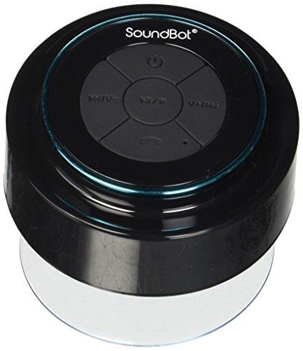 (Renewed) SoundBot SB517 Portable Outdoor Speakers (Black)