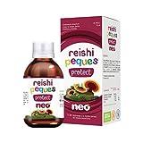 Reishi Neo Peques Protect - 150 gr Sciroppo per bambini a base di REISHI, VITAMINA C e ZINCO | Gusto pera - Dose massima giornaliera: 20 ml