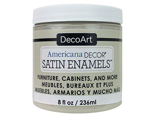 Americana Décor Décor Satin Enamels N Pintura para Botella de esmaltes satinados, acrílico, Beige Neutro, 7 x 7 x 8 cm