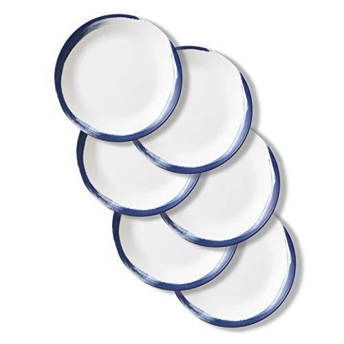Corelle Chip Resistant Dinner Plates, 6-Piece, Vivid Splash