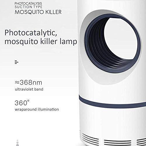 Homthing USB-Mücken-Mörder nach Hause führte Inhalationsmücken-Mörder-stumme Sicherheit Umweltschutz strahlungsfreies Schlafzimmernachtgebrauchsbaby Schwangere Frauen