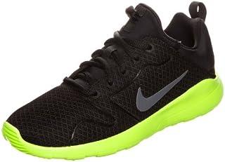 NIKE Kaishi 2.0 Kids Black/Volt Running Shoe
