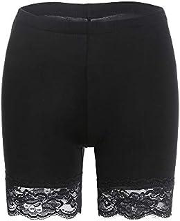 MANCYFIT Slip Shorts for Women Short Leggings Mid Thigh...