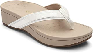 Women's Pacific High Tide Toepost Sandals – Ladies Platform Flip Flops with Orthotic Arch Support