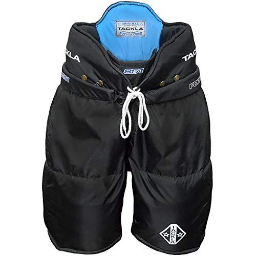 Tackla 851 Senior Ice Hockey Pants (Black, Large (52))