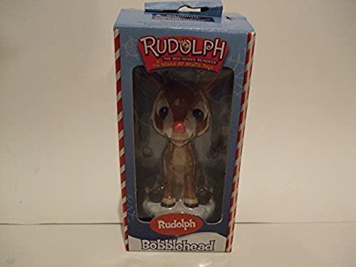 Rudolph The rot Nosed Reindeer & The Island Of Misfit Toys Bobblehead by Toy Site