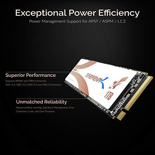 Sabrent Rocket Q4 SSD Interno M.2 2280 NVMe PCIe 4.0 da 1TB | Unità di Memoria a Stato Solido R/W 4700/1800 MB/s dalle Massime Prestazioni (SB-RKTQ4-1TB)