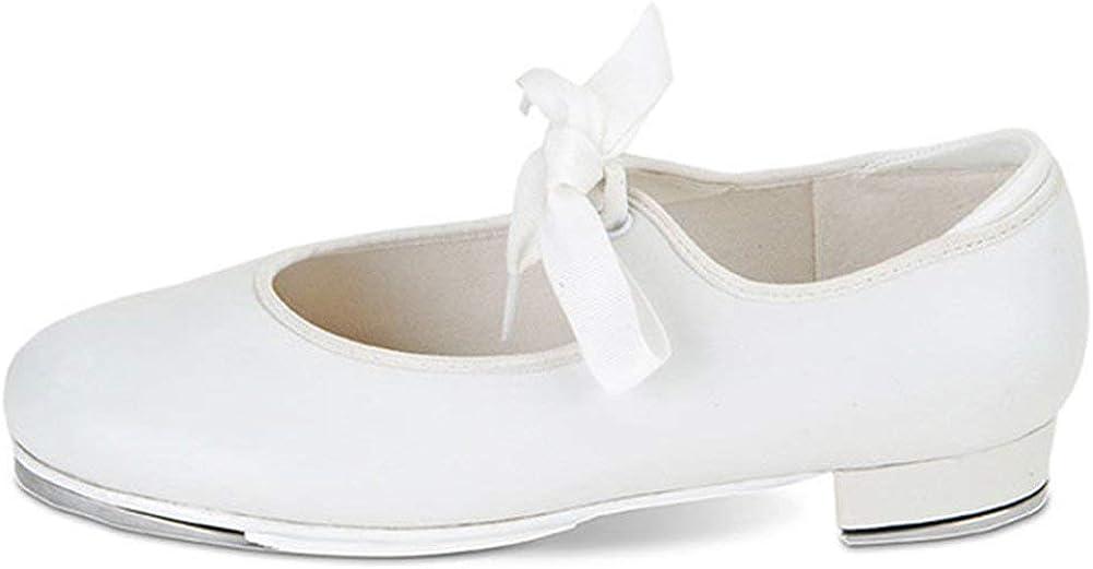 Danshuz Girl's Value Comfort Tap Flats Leather Patent Dance Shoes
