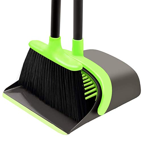 Broom and Dustpan Set Cleaning S...