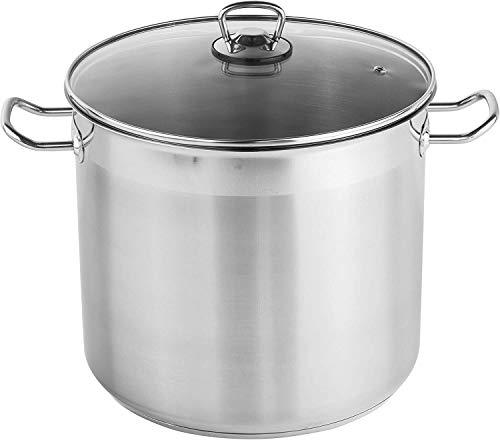 Hi Pot universel avec couvercle en verre, 20L