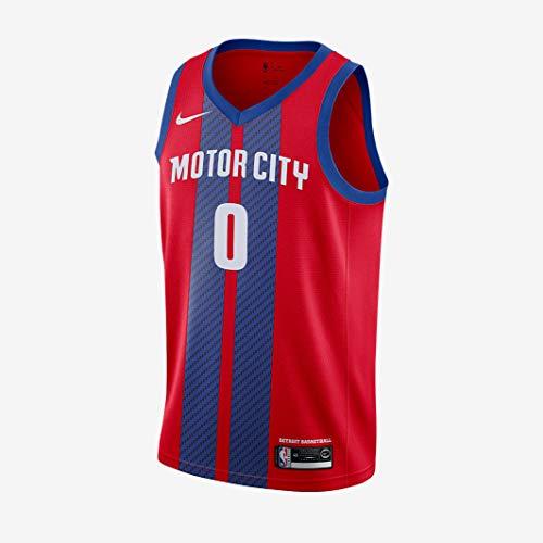 Nike Andre Drummond Detroit Pistons City Edition NBA Swingman camiseta de baloncesto AV4636-657 talla XL
