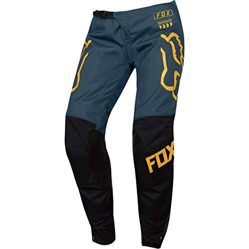 2019 Fox Racing Youth Girls 180 Mata Pants-Black/Navy-26