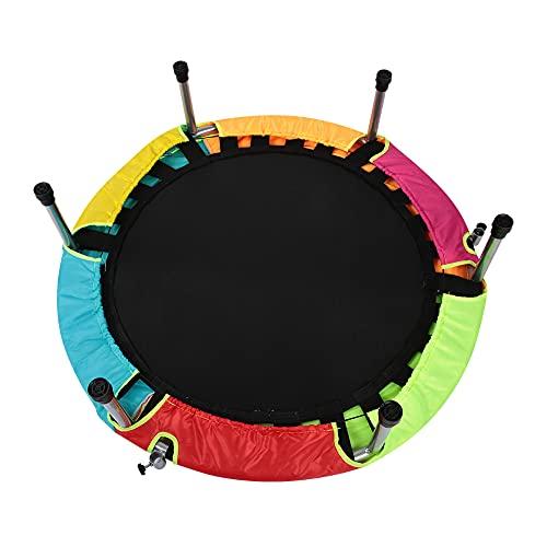 Cloudbox Rebounder Kids-Mini Faltbares Rebounder Safe Kindertrampolin mit Handlauf für den Indoor Home Kindergarten
