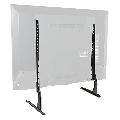 Mount Factory Modern Tabletop TV Stand - Universal Flat Screen Base Replacement for 24' 32' 40' 42'...