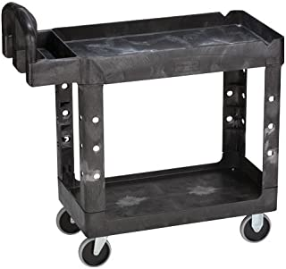 Rubbermaid Utility Cart HD 2 Shelf 16