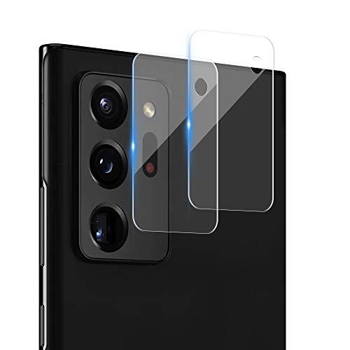 Echden Handy Kamera Protector Kompatibel mit Samsung Galaxy Note 20 Ultra Kamera Panzerglas[2 Pack] -Kameraschutz- Linse Schutzfolie 3D Vollständige Abdeckung 9H Titanium alloy and glass