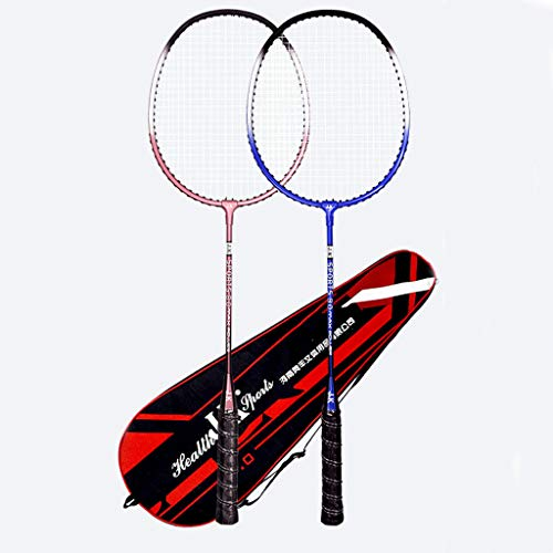 ZWWZ Graphite Badminton Racket,sports Racket,sports Badminton Racket,student Beginner Double Racket Durable Adult Badminton Racket Set (free 3 Badminton Rackets)