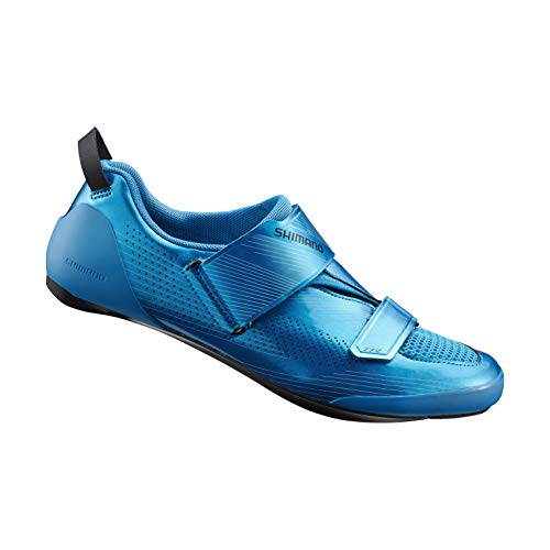 SHIMANO SH-TR901 Bicycles Shoes, Blue, 45.0