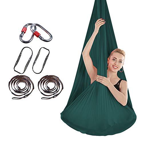 Why Choose ZHYJJ Aerial Yoga Swing Set Antigravity Yoga Hammock Inversion Trapeze Sling Exercise Equ...
