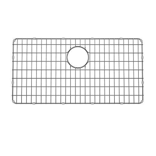 "Kraus Stainless Steel BG3117 Bottom Grid for KD1US33B Kitchen Sink, 28 5/8"" x 14 3/8"" x 3/8"""