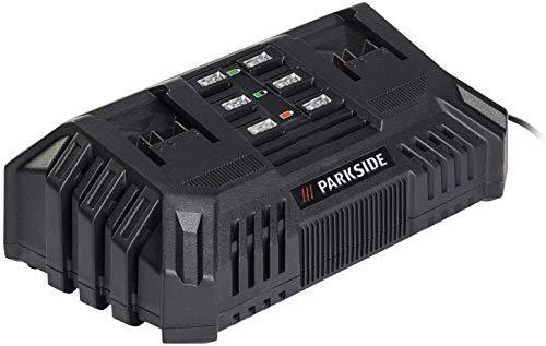 Cargador de batería rápido dual Parkside PDSLG 20 A1 para
