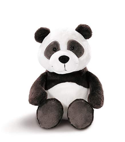 NICI 43623 Kuscheltier Panda, 20 cm, weiß/schwarz