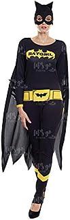 Disfraz Heroína Bat Girl Mujer Disfraz Superhéroe Mujer (Talla M) (+ Tallas)