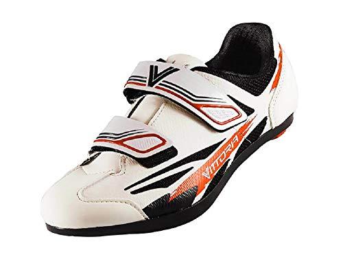 Vittoria Kid Road Cycling Shoes (EU 32, White)