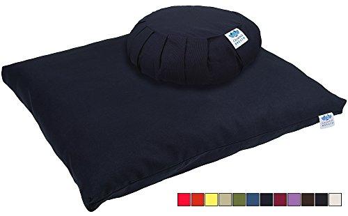 CalmingBreath Set Tappeto zabuton e Cuscino zafu da Meditazione...
