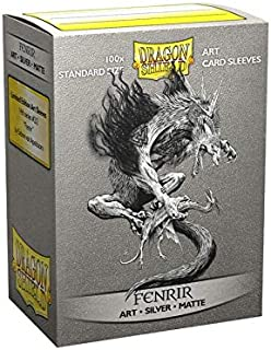 Dragon Shield Sleeves - Matte Art Vikings Fenrir 100 CT – MGT Card Sleeves are Smooth & Tough – Compatible with Pokemon, Y...