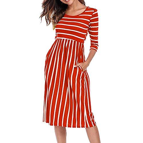 DAIDAILYQ - Golf-Kleider für Damen in Orange, Größe XL
