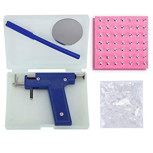 YIY Kit d'outils de perçage pour oreille avec 98 clous en acier inoxydable