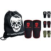 Gymreapers Knee Sleeves (1 Pair) with Gym Bag - Knee Sleeve & Compression Brace for Squats, Weightlifting, Cross Training and Powerlifting - 7MM Sleeve Pair - for Men & Women