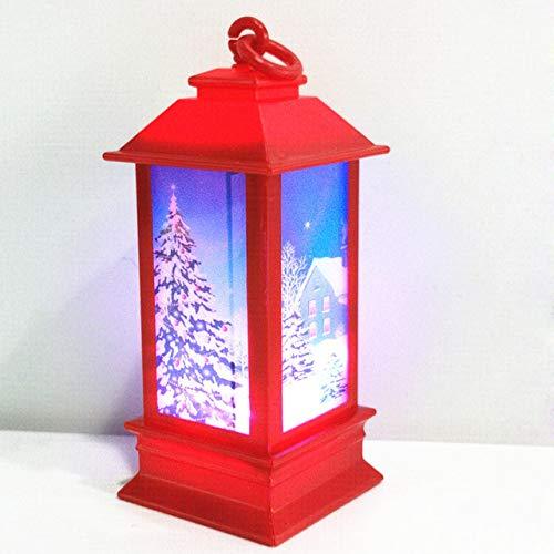 MMKICC Decorazioni Natalizie, QLQGY Luci a LED Candele da Appendere a casa per Decorazioni Natalizie Lampade per Lanterne Illuminazione, Tipo 1